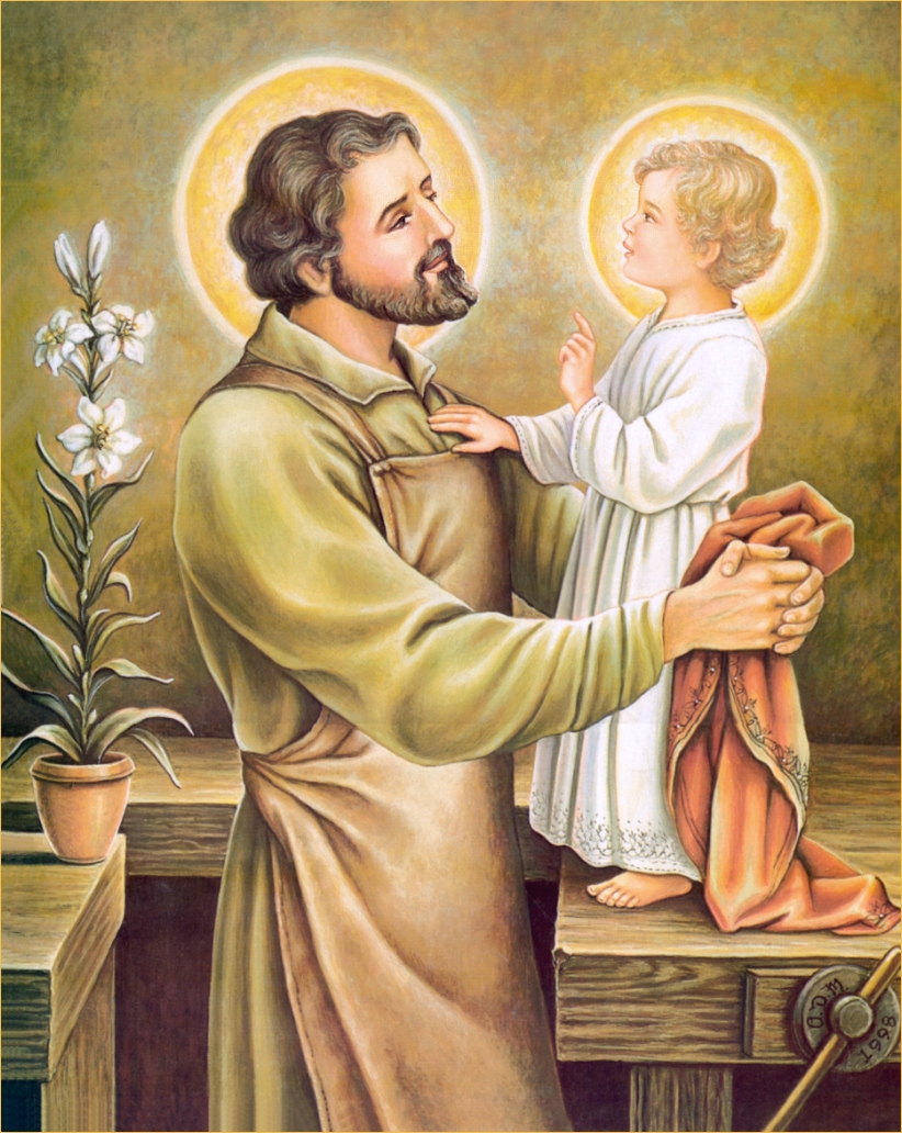 photo about Printable Prayer to St. Joseph referred to as Prayer St Josephs Catholic Major Faculty